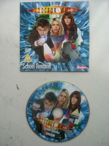 Doctor Who School Reunion  DVD Originally Released by The Sun